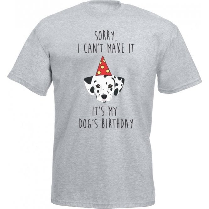 It's My Dog's Birthday (Dalmatian) T-Shirt
