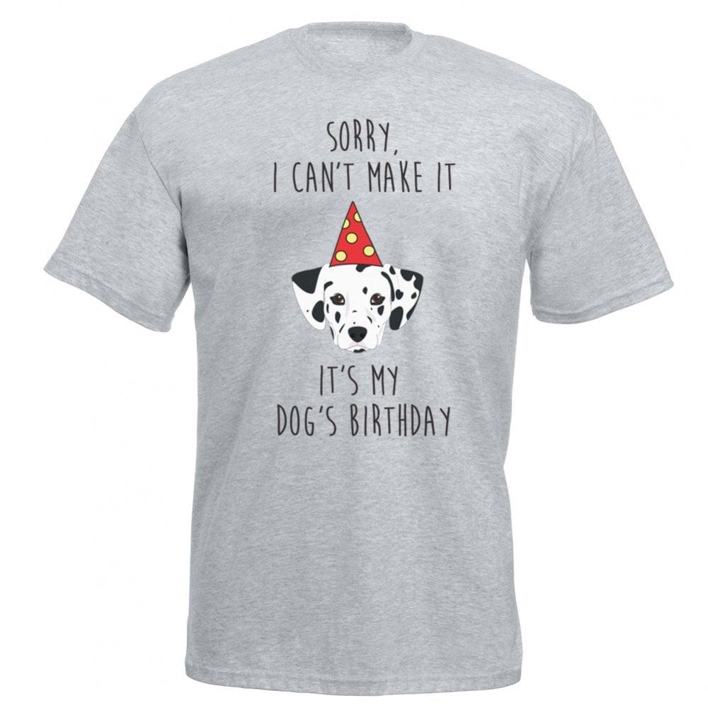 Its My Dogs Birthday Dalmatian T Shirt