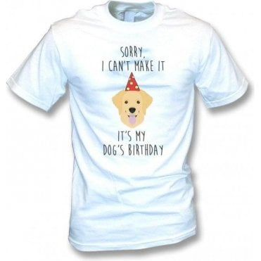 It's My Dog's Birthday (Labrador) T-Shirt