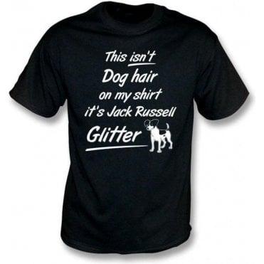 Jack Russell Glitter Kids T-Shirt