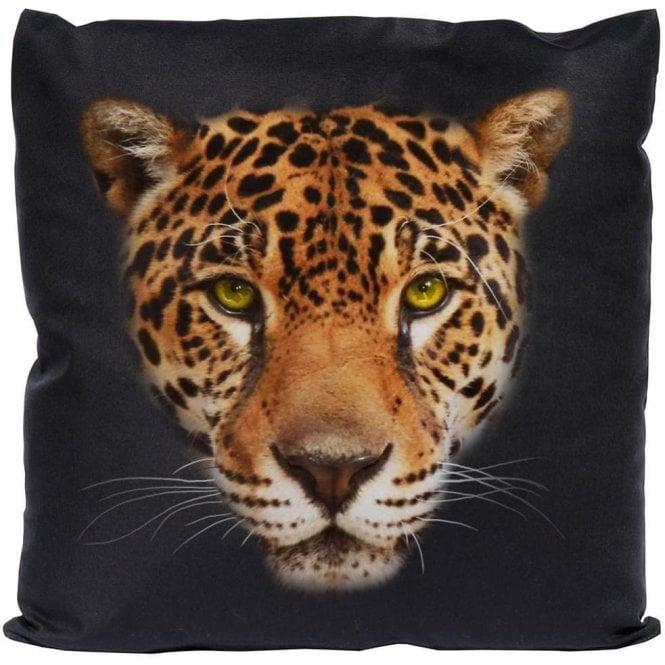 Jaguar Face Cushion