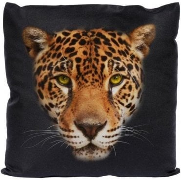 Jaguar Face Cushion