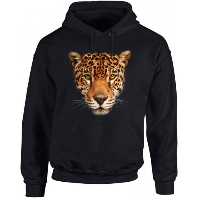 Jaguar Face Hooded Sweatshirt