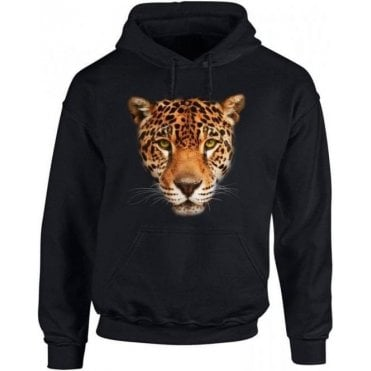 Jaguar Face Kids Hooded Sweatshirt