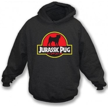 Jurassic Pug Hooded Sweatshirt