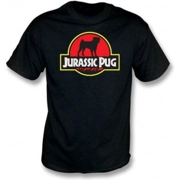 Jurassic Pug Kids T-Shirt