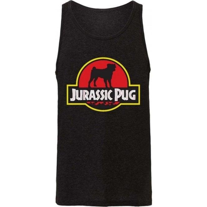 Jurassic Pug Men's Tank Top