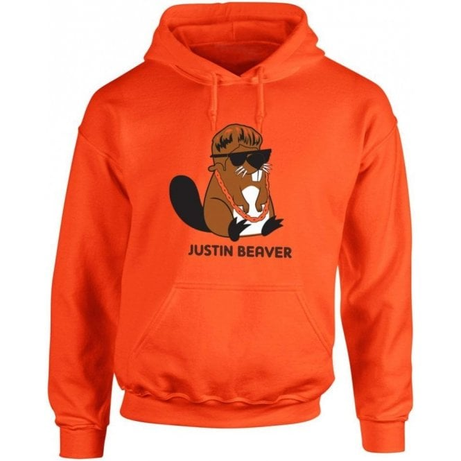 Justin Beaver Hooded Sweatshirt