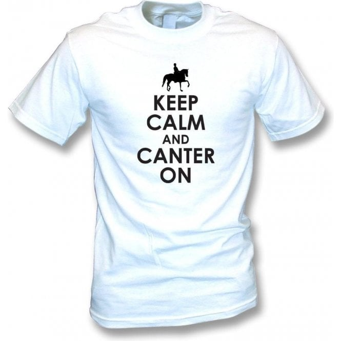 Keep Calm And Canter On Kids T-Shirt