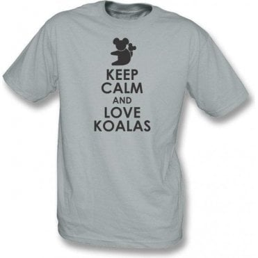Keep Calm And Love Koalas Kids T-Shirt