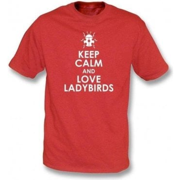 Keep Calm And Love Ladybirds Kids T-Shirt