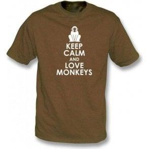Keep Calm And Love Monkeys T-Shirt