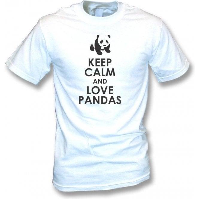 Keep Calm And Love Pandas T-Shirt