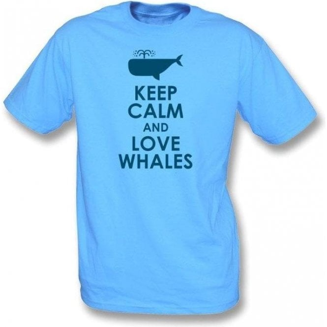 Keep Calm And Love Whales T-Shirt