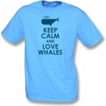 Keep Calm And Love Whales T-Shirt