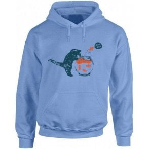 Kitten & Goldfish Yeah Yeah Kids Hooded Sweatshirt