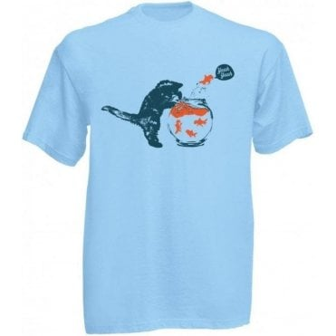 Kitten & Goldfish Yeah Yeah T-Shirt