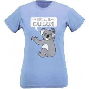 Koalifications Slim Fit Womens T-Shirt
