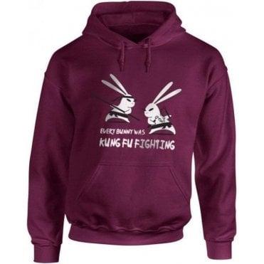 Kung Fu Bunny Hooded Sweatshirt