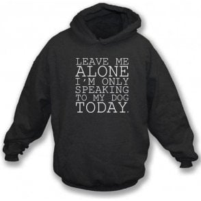 Leave Me Alone Kids Hooded Sweatshirt