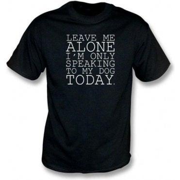 Leave Me Alone Kids T-Shirt