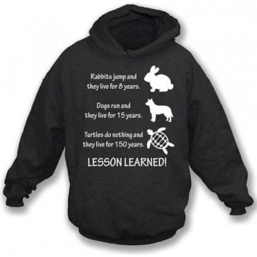 Lesson Learned Hooded Sweatshirt