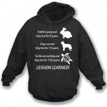 Lesson Learned Kids Hooded Sweatshirt