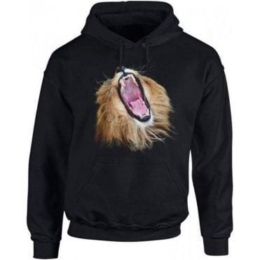 Lion Head Roars Kids Hooded Sweatshirt