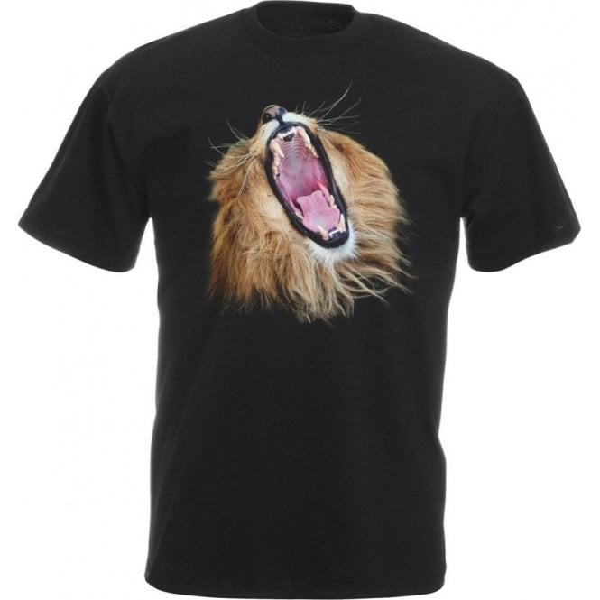 Lion Head Roars Kids T-Shirt