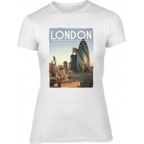 London Urban Baboon Collective Women's Slim Fit T-Shirt