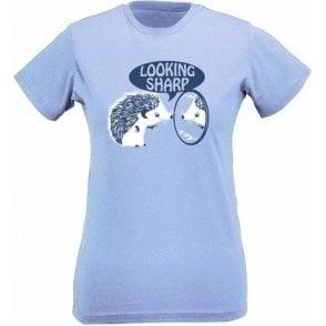 Looking Sharp Hedgehog Womens Slim Fit T-Shirt