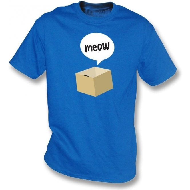 Meow Cat In A Box Kids T-Shirt
