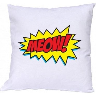 Meow Comic Bubble Cushion