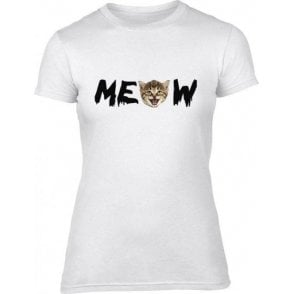 Meow Women's Slim Fit T-Shirt
