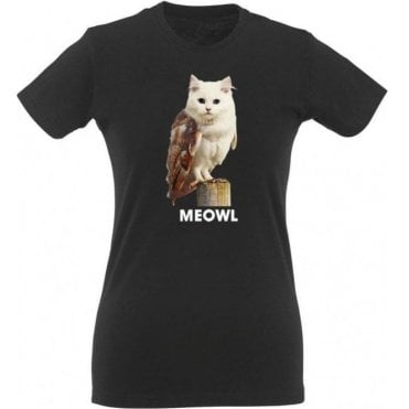 Meowl Womens Slim Fit T-Shirt