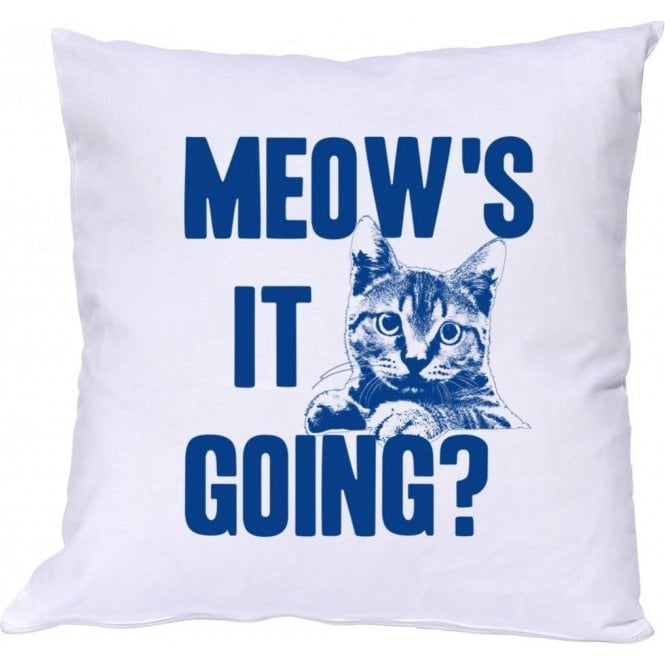 Meow's It Going Cushion