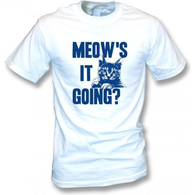Meow's It Going Kids T-Shirt