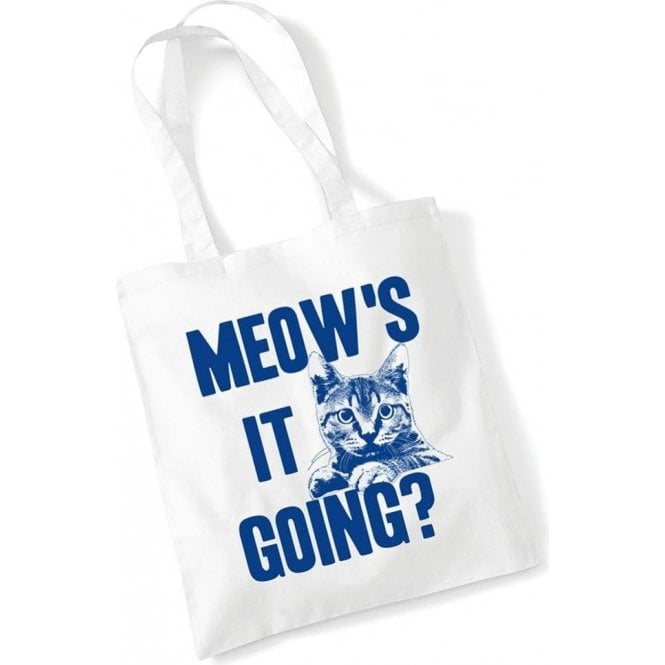 Meow's It Going Long Handled Tote Bag