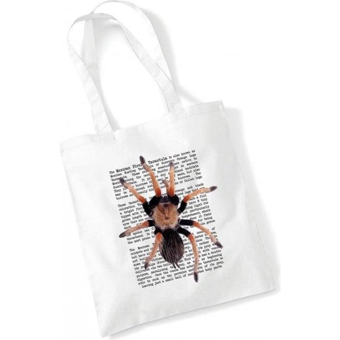 Mexican Fireleg Tarantula Long Handled Tote Bag
