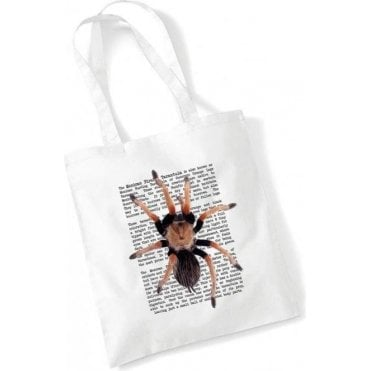 Mexican Fireleg Tarantula Long Handled Tote Bag