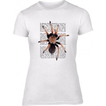 Mexican Fireleg Tarantula Women's Slim Fit T-Shirt