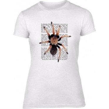 Mexican Fireleg Tarantula Women's Slim Fit T-Shirt