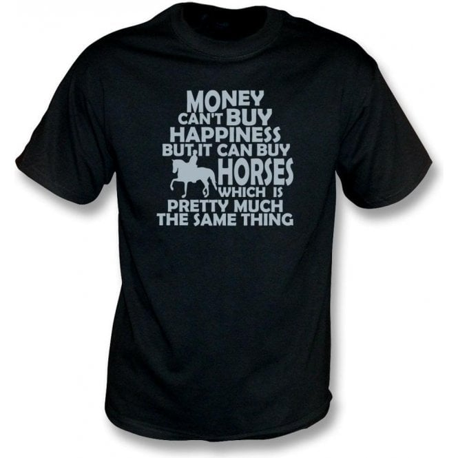 Money Can't Buy Happiness Kids T-Shirt