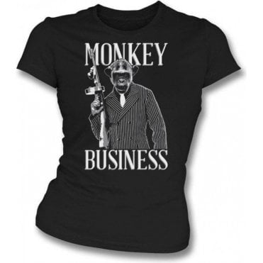 Monkey Business Womens Slim Fit T-Shirt