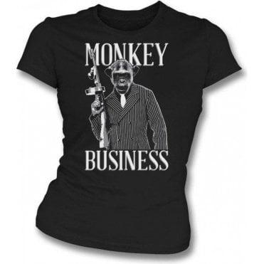 Monkey Business Womens Slim Fit T-Shirt