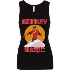 Monkey Magic Women's Baby Rib Tank Top