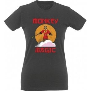 Monkey Magic Womens Slim Fit T-Shirt