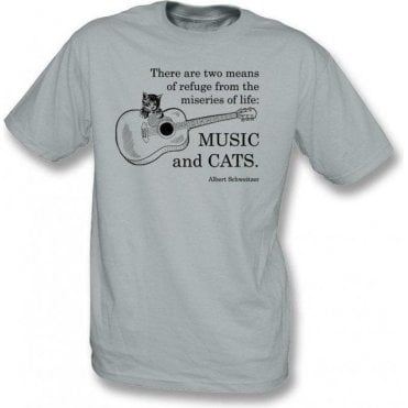 Music And Cats Kids T-Shirt
