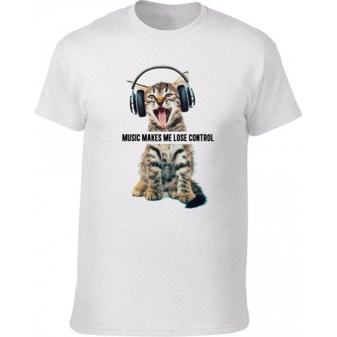 Music Makes Me Lose Control Kids T-Shirt