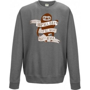 Nap All Day Kids Sweatshirt